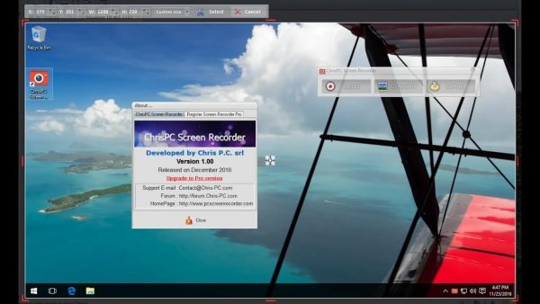ChrisPC Screen Recorder Pro Crack + Serial Key Updated