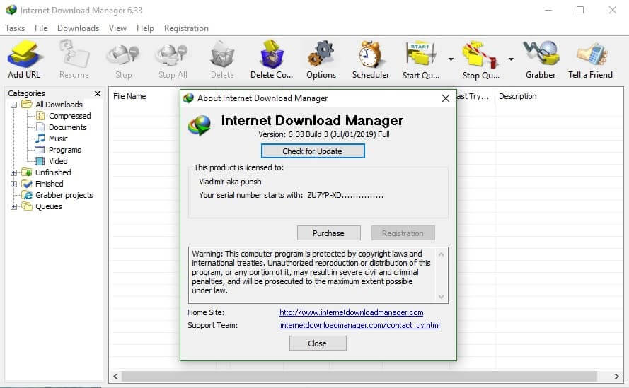 IDM Crack 6.38 Build 1 Patch Plus Serial Key [Latest] 2020