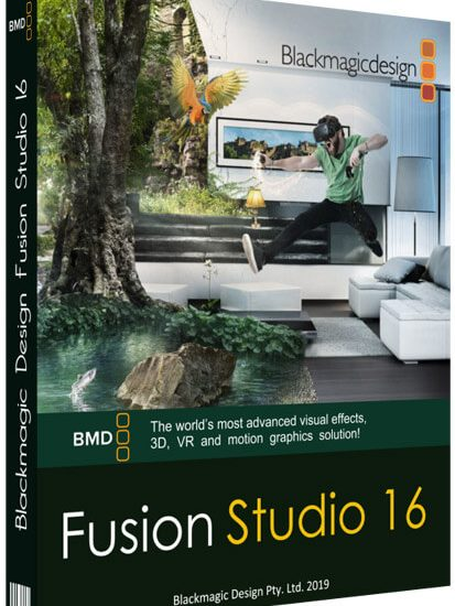 Blackmagic Design Fusion Studio 16 Crack