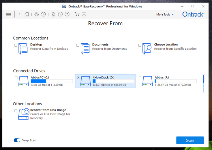 easy recovery free download full version with crack