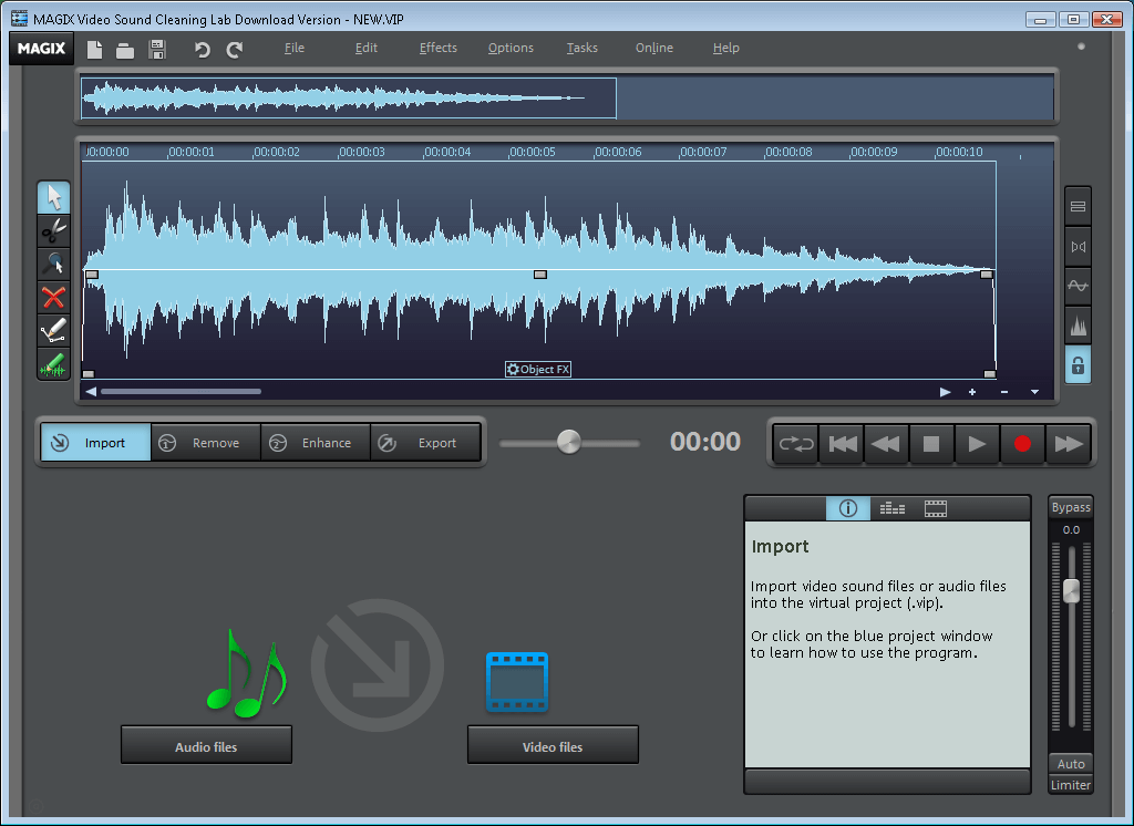 MAGIX SOUND FORGE Audio Cleaning Lab Crack