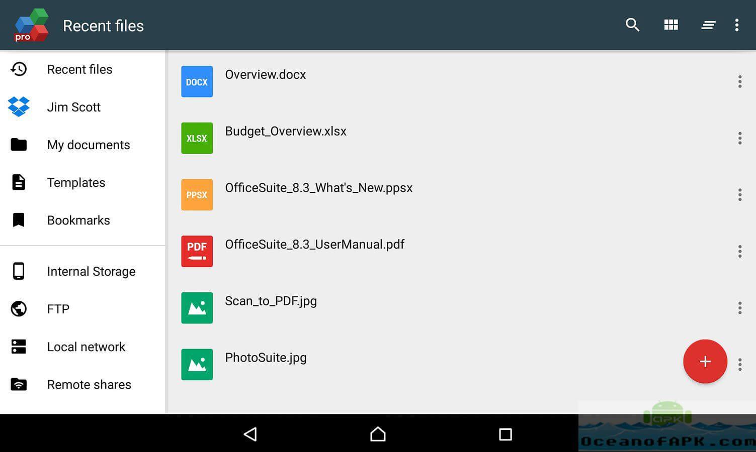 OfficeSuite Pro Apk Crack