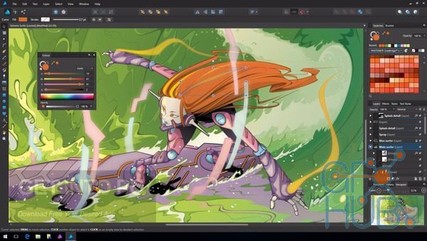 Serif Affinity Designer 1.8.3.641 Crack With Keygen 2020 Latest