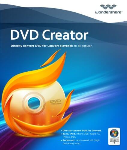 Wondershare DVD Creator 6.3.2.175 Crack + Key 2020 Latest