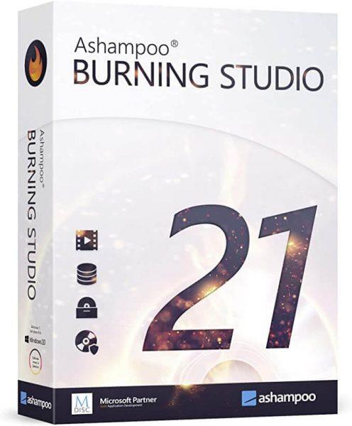 Ashampoo Burning Studio Crack 21.6.1.63 & Activation Key 2020 Full 1