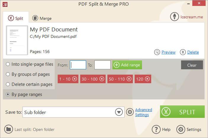 Icecream PDF Split & Merge Pro Crack