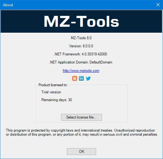 MZ-Tools License File 8.0.0.189 For VS 2005-2017, VBA, VB5, VB6 + Crack Download