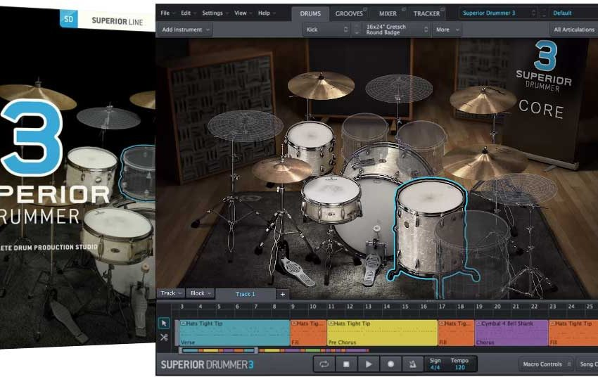 Toontrack Superior Drummer 3.1.7 Crack With MacOsX Full Version 2020 Torrent