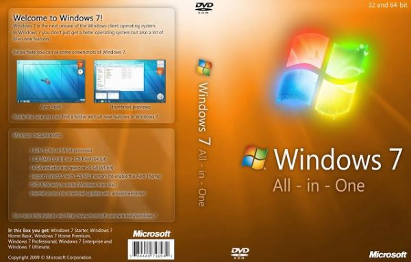 Windows 7 All In One ISO Full Latest Free Download 1