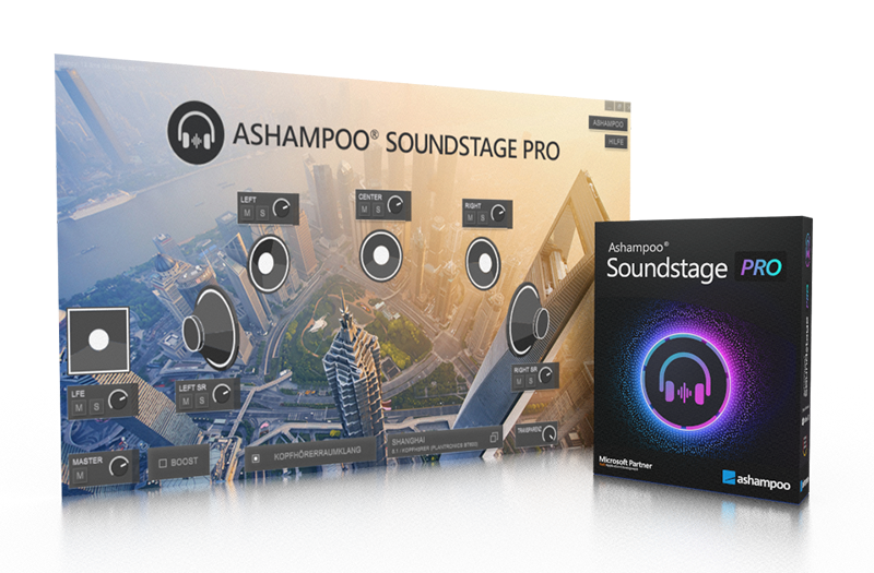 Ashampoo Soundstage Pro 1.0.3 With Crack [ Latest Version ]