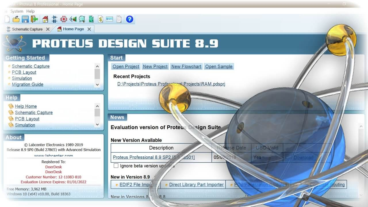Proteus 8 9 Sp2 Crack Professional Full Version Download Latest