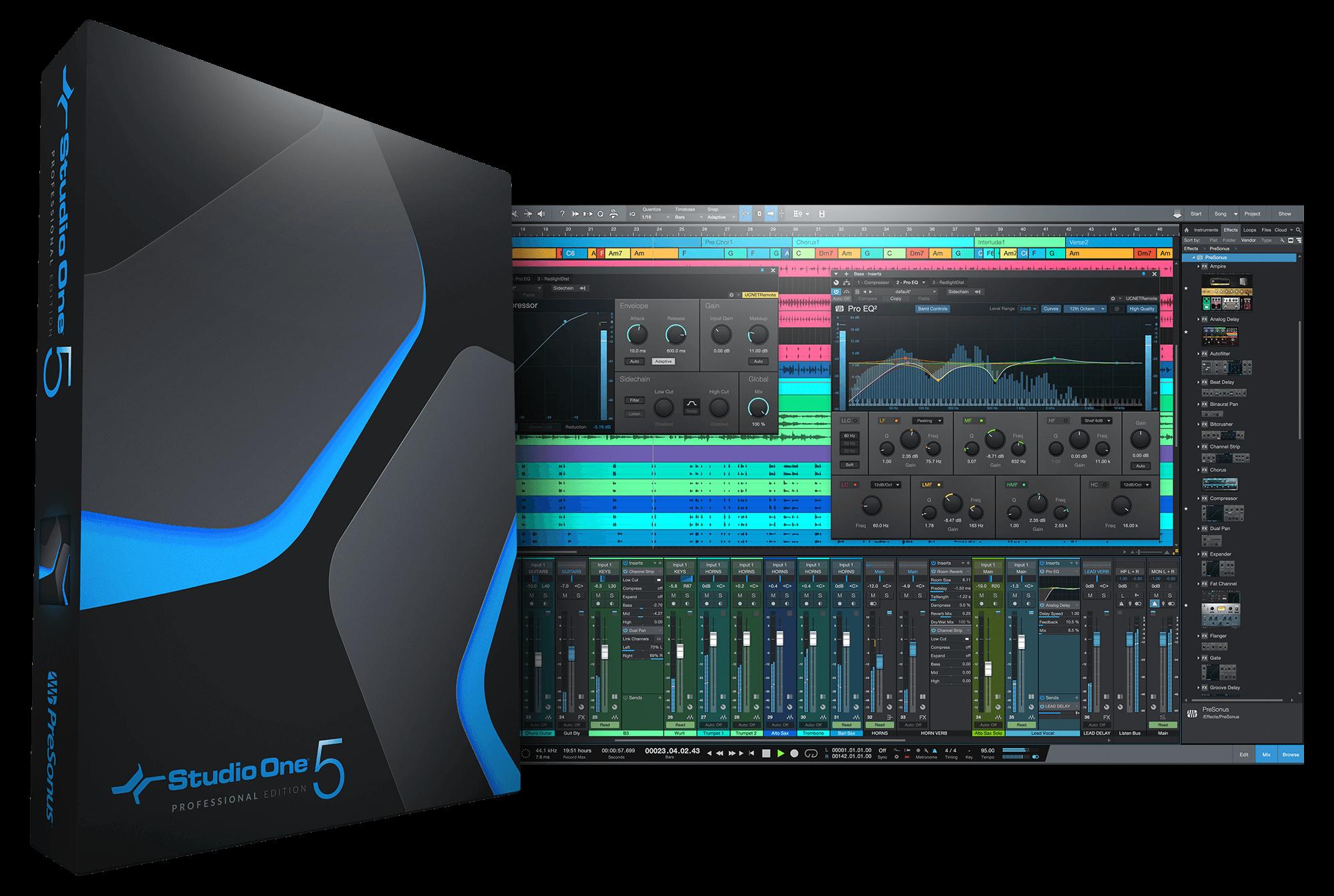 Studio One Pro 5.0.1 Crack + Keygen Download [2020]