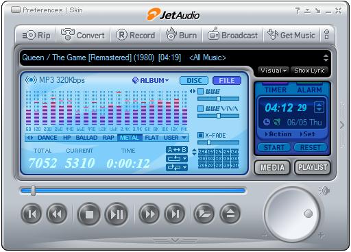 JetAudio Music Player APK Cracked